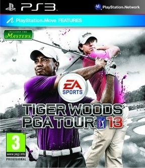 Tiger Woods PGA Tour 13 Move (PS3)