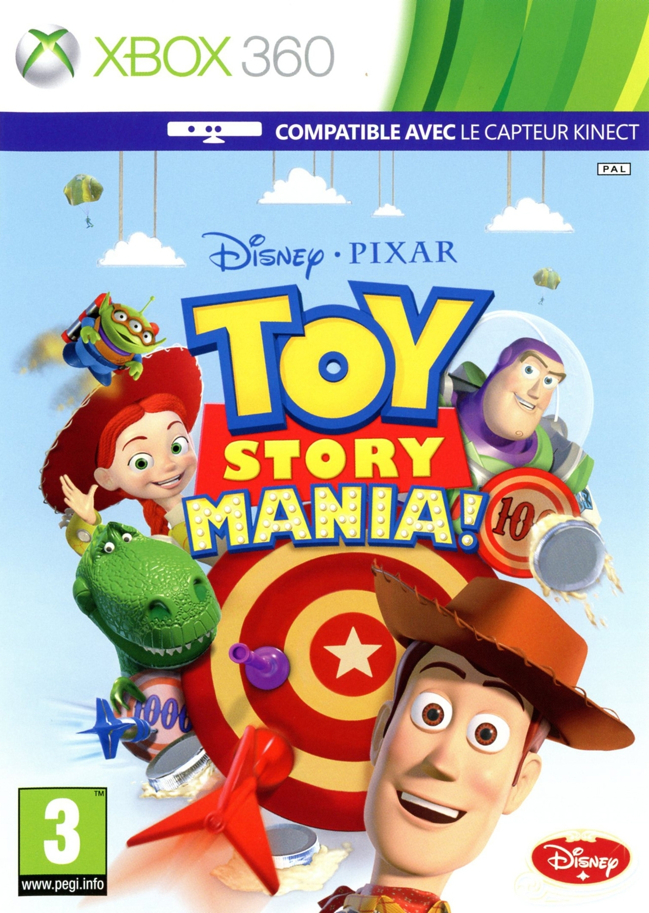 Toy Story Mania! Kinect (Xbox 360)