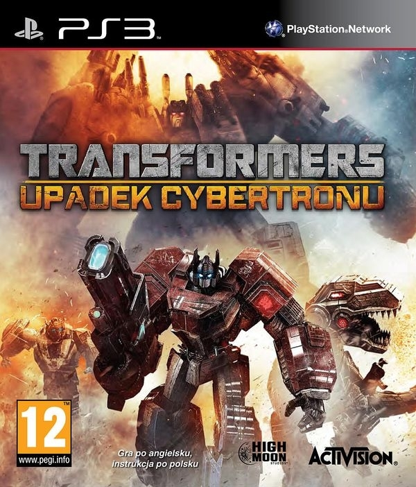 Transformers Upadek Cybertronu / Fall of Cybertron (PS3)