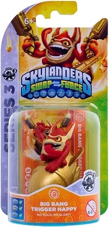 Figurka Skylandersf Swap Force - Trigger Happy (PS3, Xbox 360, WiiU, Wii, 3DS)