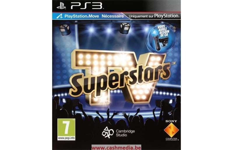 Tv Superstars Move (PS3)