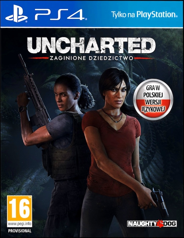 Uncharted Zaginione Dziedzictwo / Lost Legacy PL (PS4)
