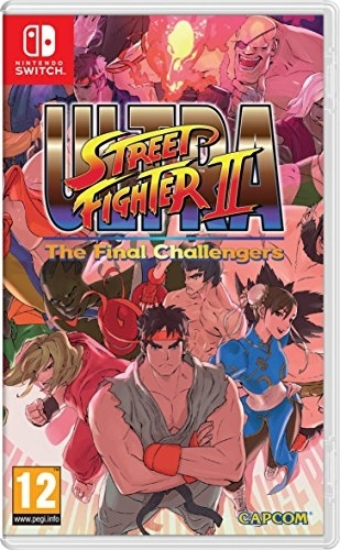 Ultra Street Fighter 2 The Final Challenger Nintendo Switch