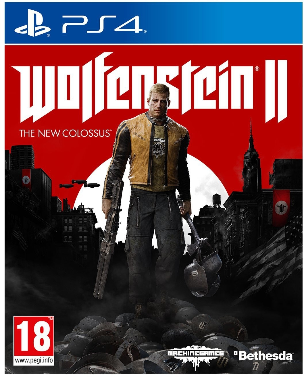 Wolfenstein II: The New Colossus PL (PS4)