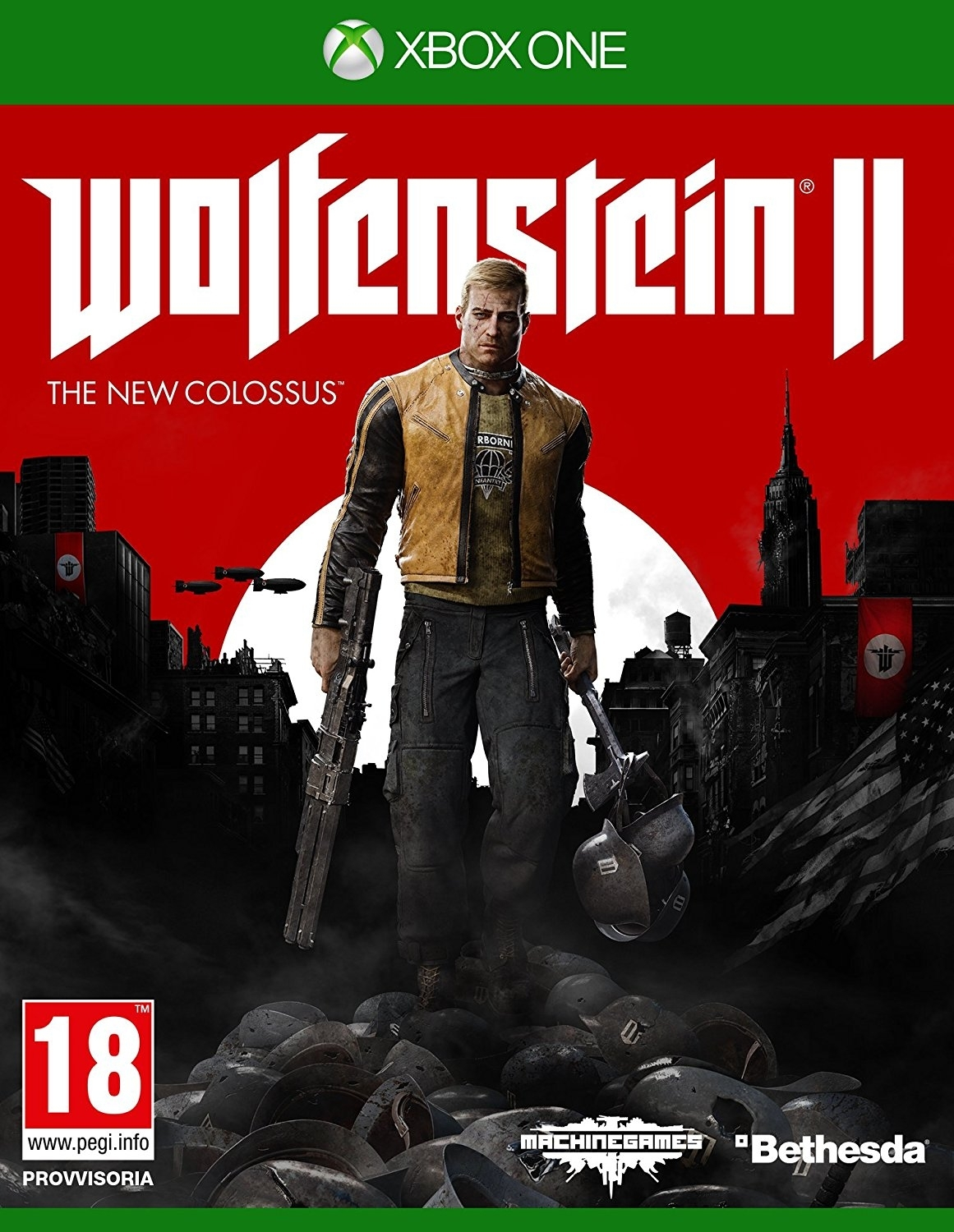 Wolfenstein II: The New Colossus PL (Xbox One)