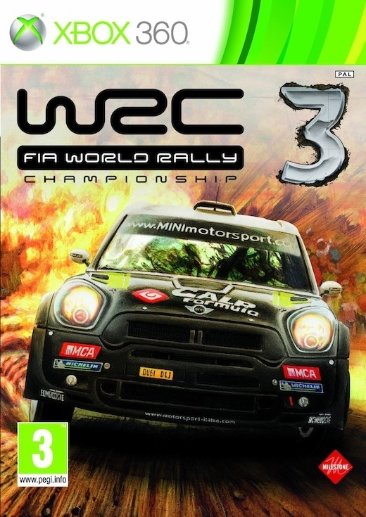 WRC 3 FIA World Rally Championship 3 (Xbox 360)