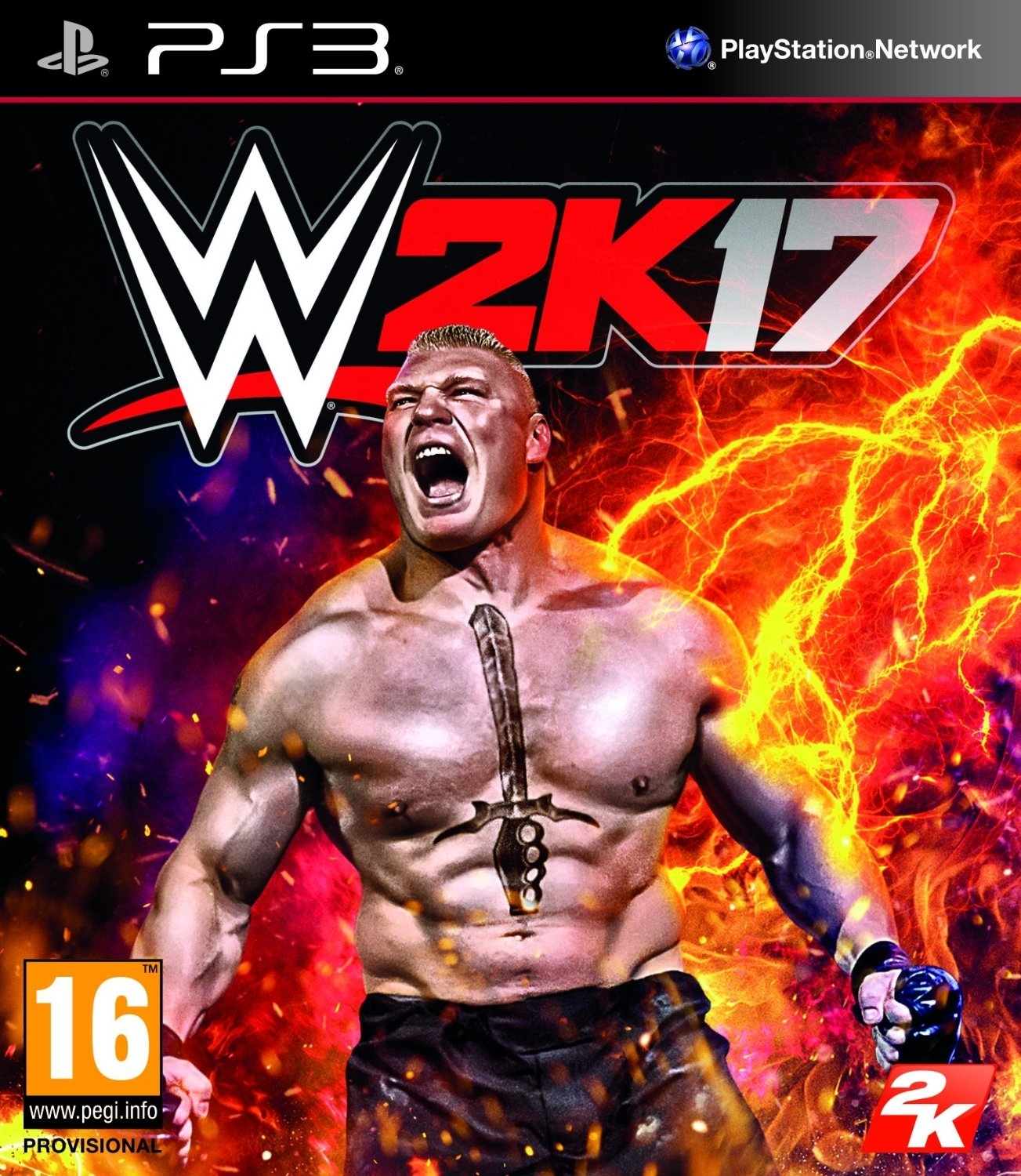 WWE 2K17 + DLC (PS3)