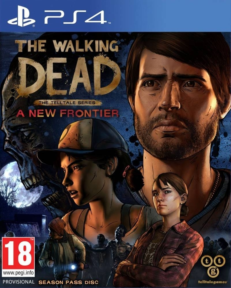 Walking Dead Season 3 (PS4)