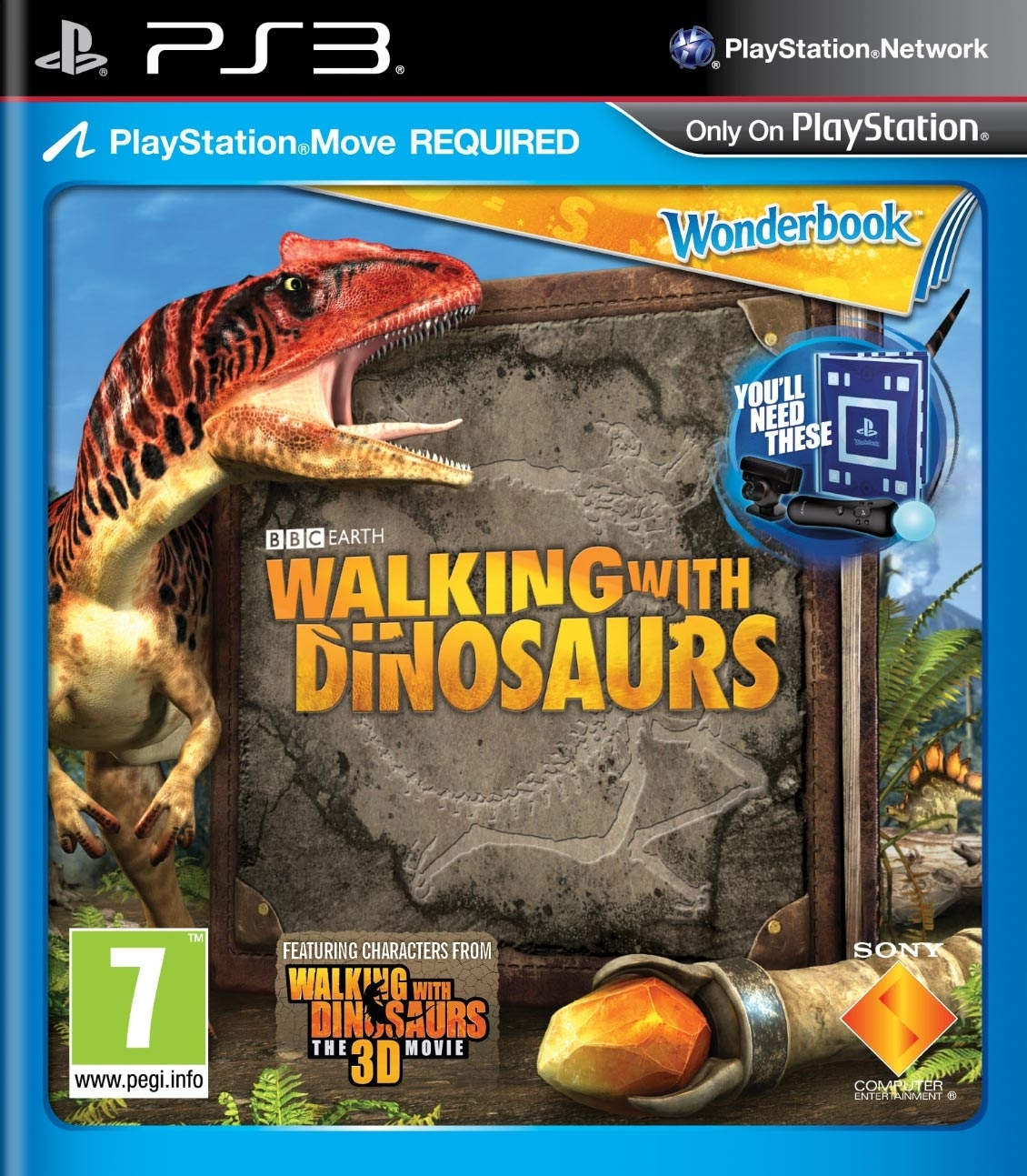 Wonderbook: Wędrówki z Dinozaurami / Walking With Dinosaurs (PS3)