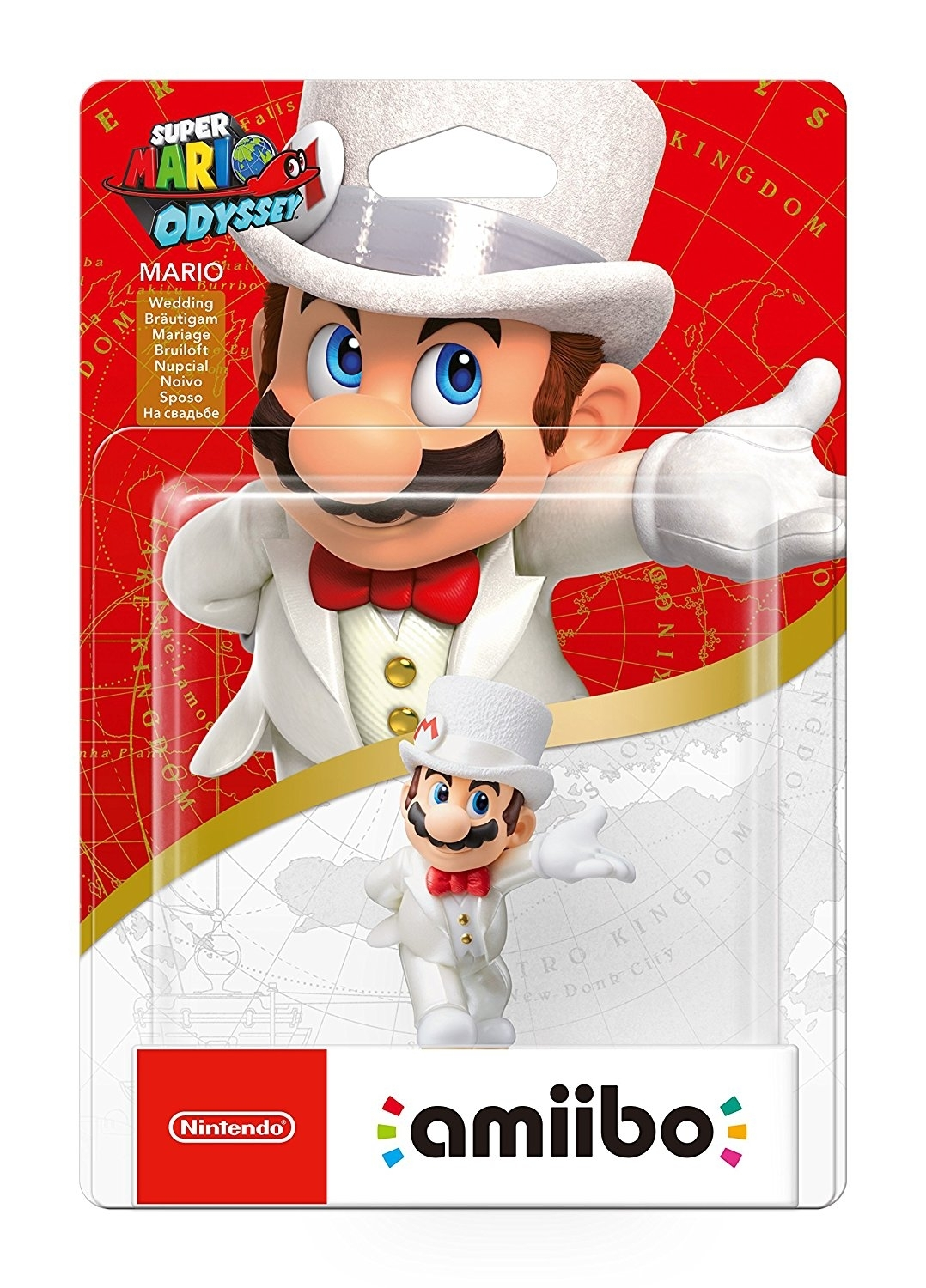 Figurka Amiibo Wedding Mario Super Mario Odyssey (WiiU, 3DS,2DS, Nintendo Switch)