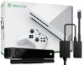 Konsola Xbox One S 500 GB + Kinect 2.0 + Adapter