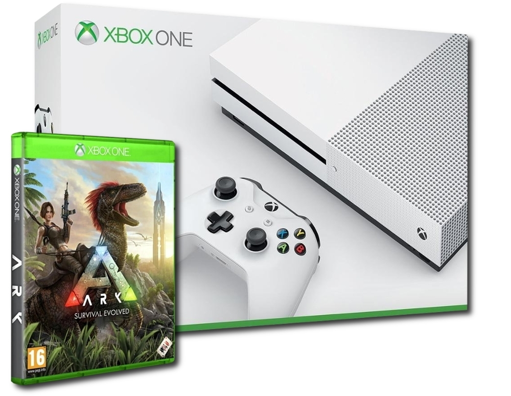 Konsola Xbox One S 1 TB + Ark Survival Evolved