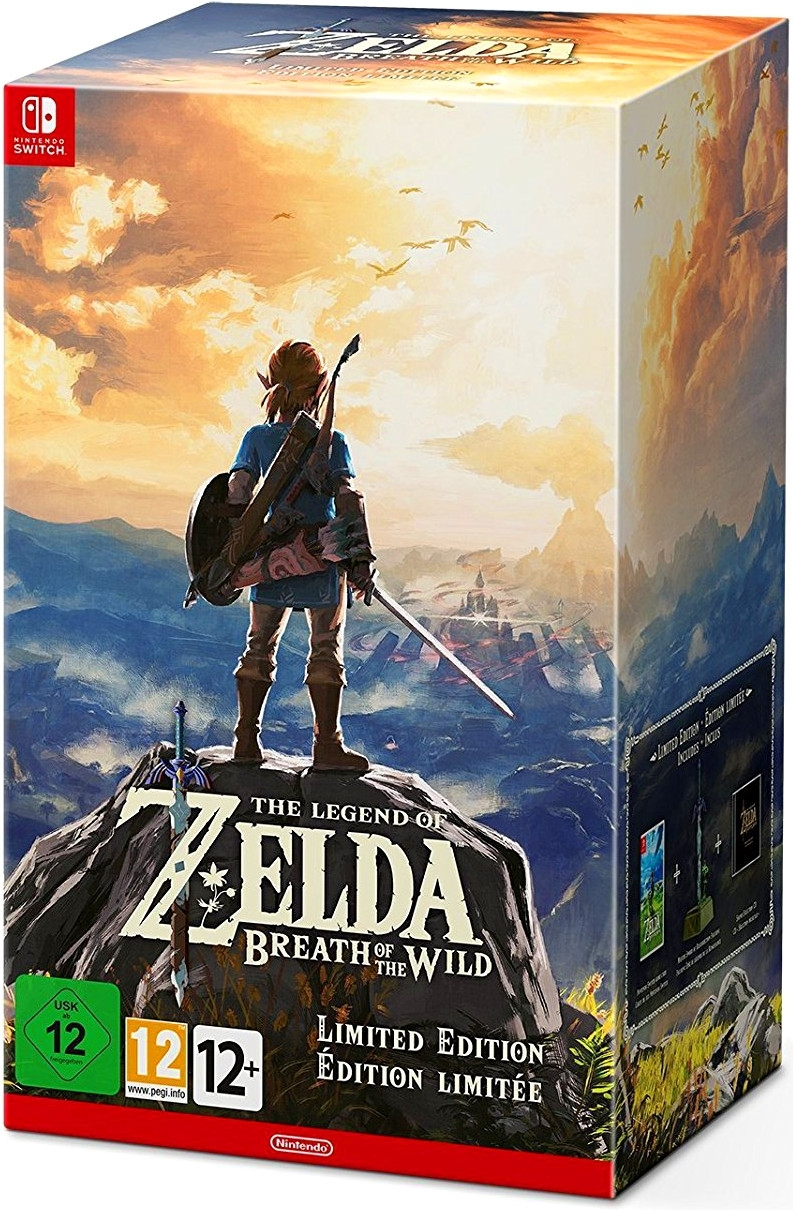The Legend Of Zelda Breath Of The Wild Edycja Kolekcjonerska Nintendo Switch