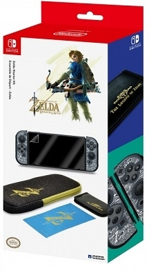 Hori Etui Zelda Breath of the Wild Starter Kit for Switch do Konsoli Nintendo Switch