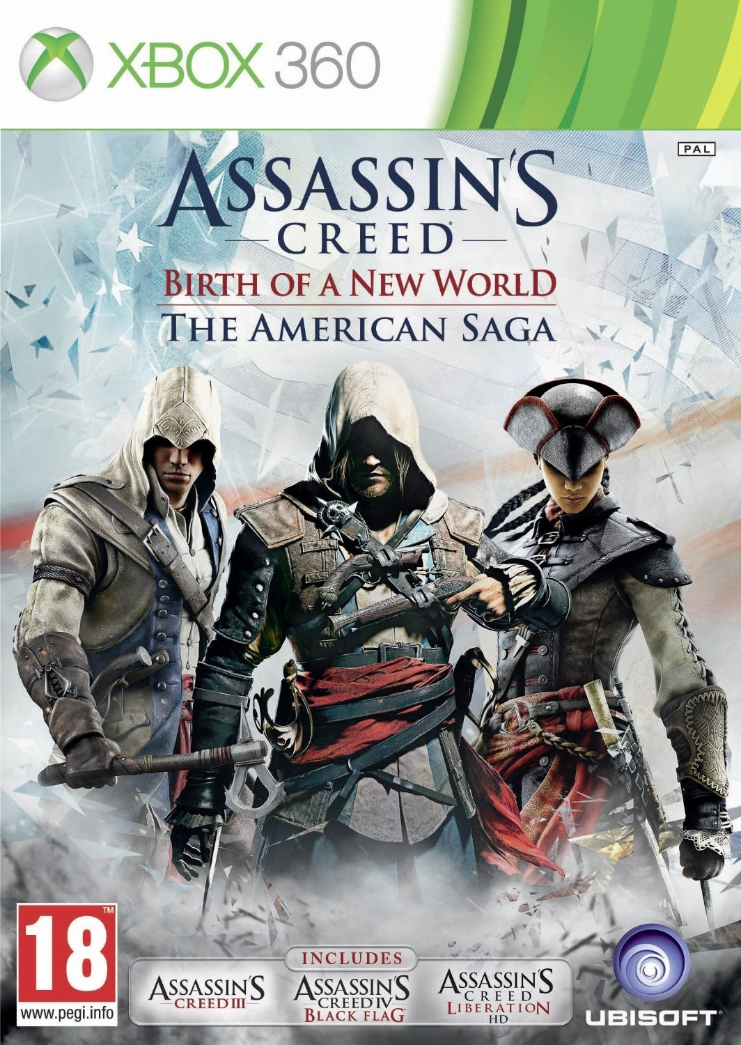 Assassin's Creed The American Saga (Xbox 360)