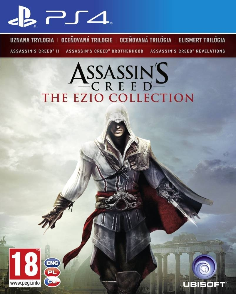 Assassin's Creed The Ezio Collection PL (PS4)