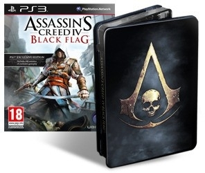 Assassin's Creed IV Black Flag Skull Edition (PS3)