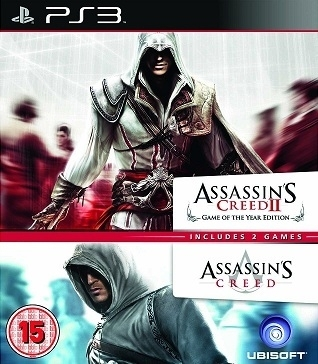 Assassin's Assassins Creed 1 and 2 (PS3)