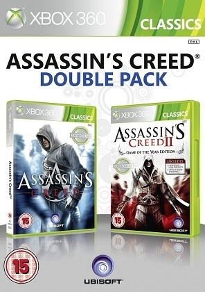 Assassin's Assassins Creed 1 and 2 (Xbox 360)
