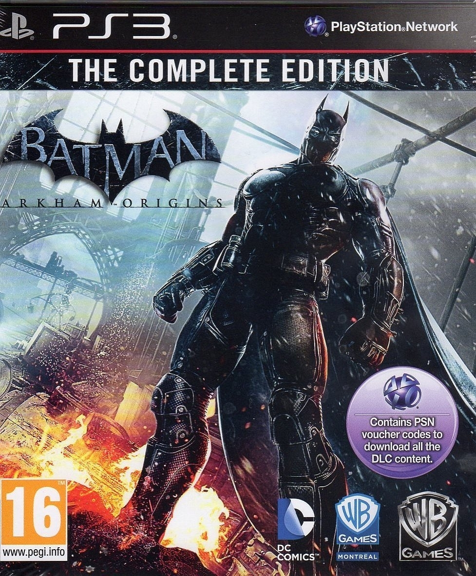 Batman Arkham Origins Complete Edition (PS3)
