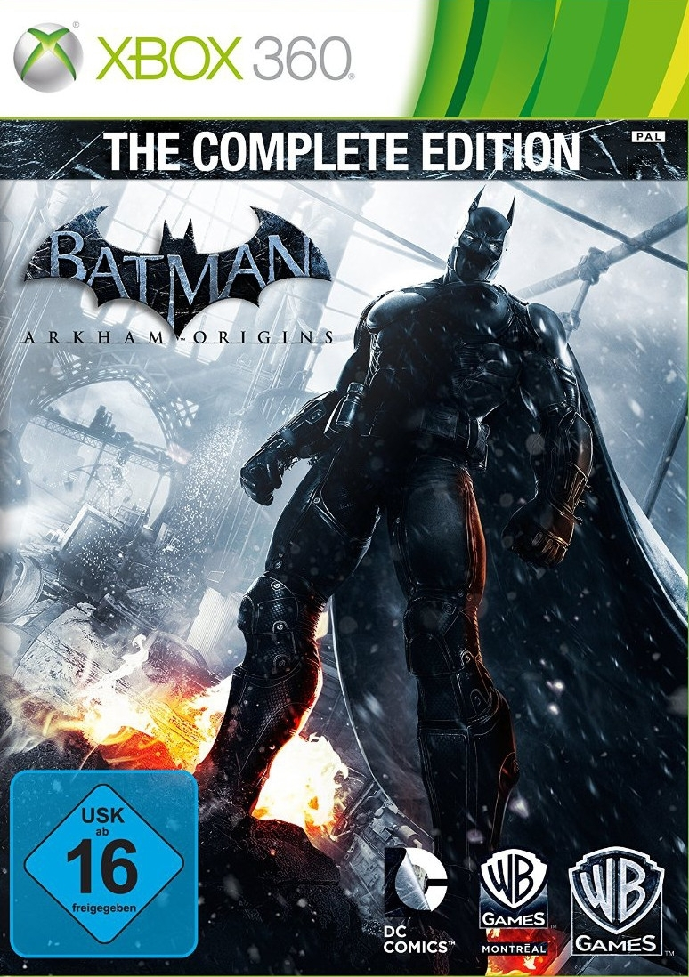 Batman Arkham Origins Complete Edition (Xbox 360)