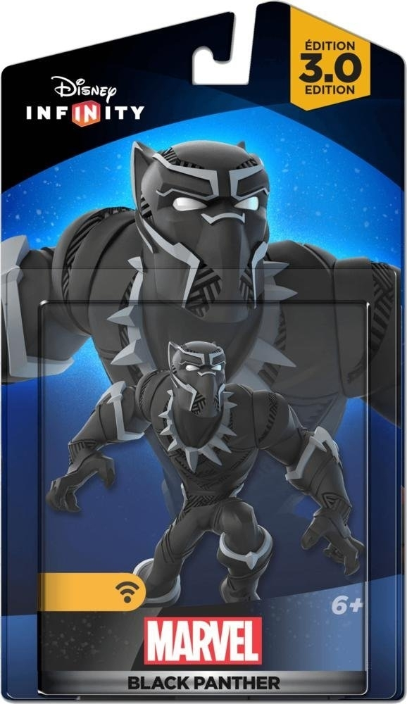 Figurka Disney Infinity 3.0 Black Panther (PS3, PS4, Xbox 360, Xbox One, WiiU, 3DS)