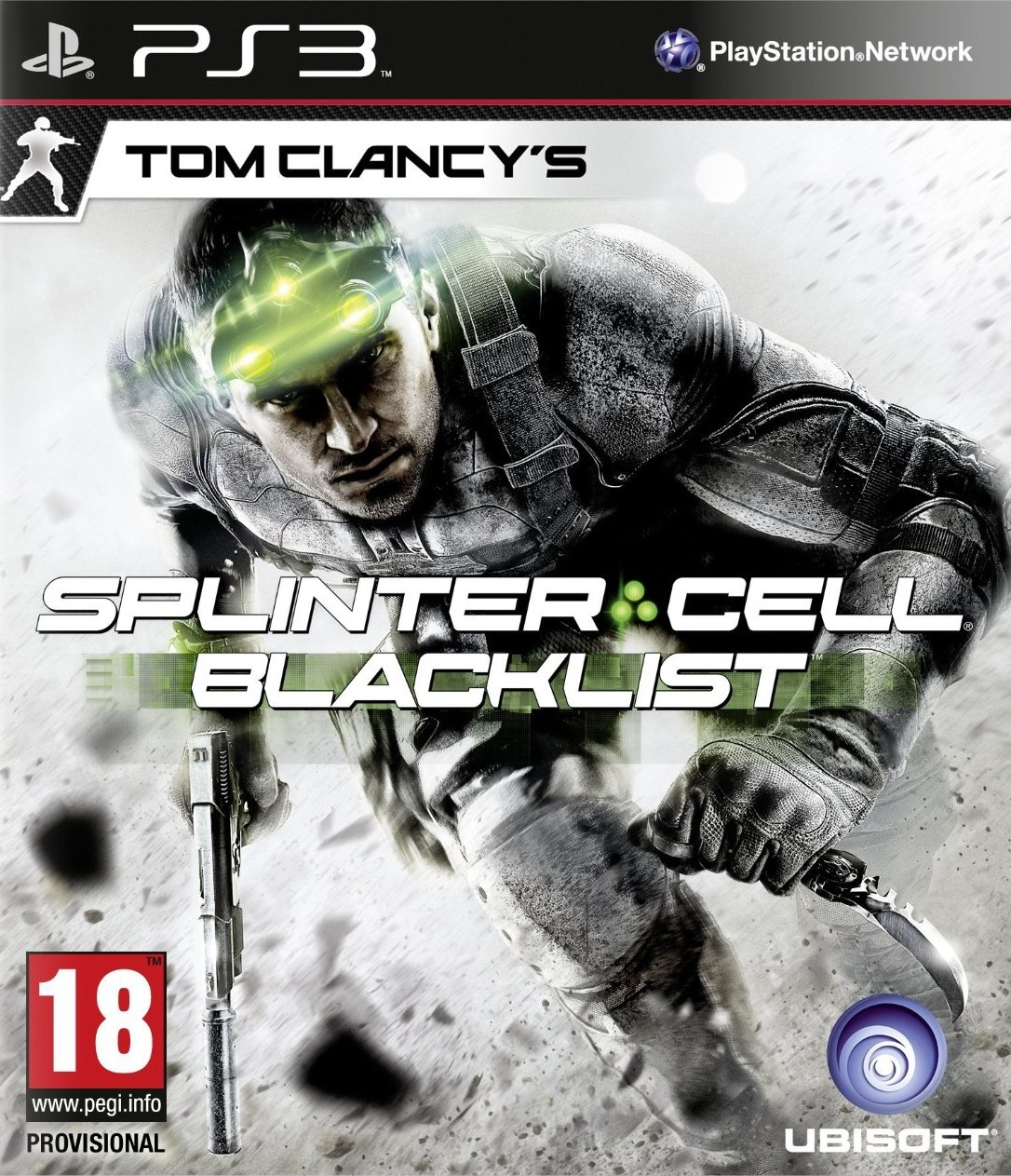 Tom Clancys Splinter Cell Blacklist PL (PS3)