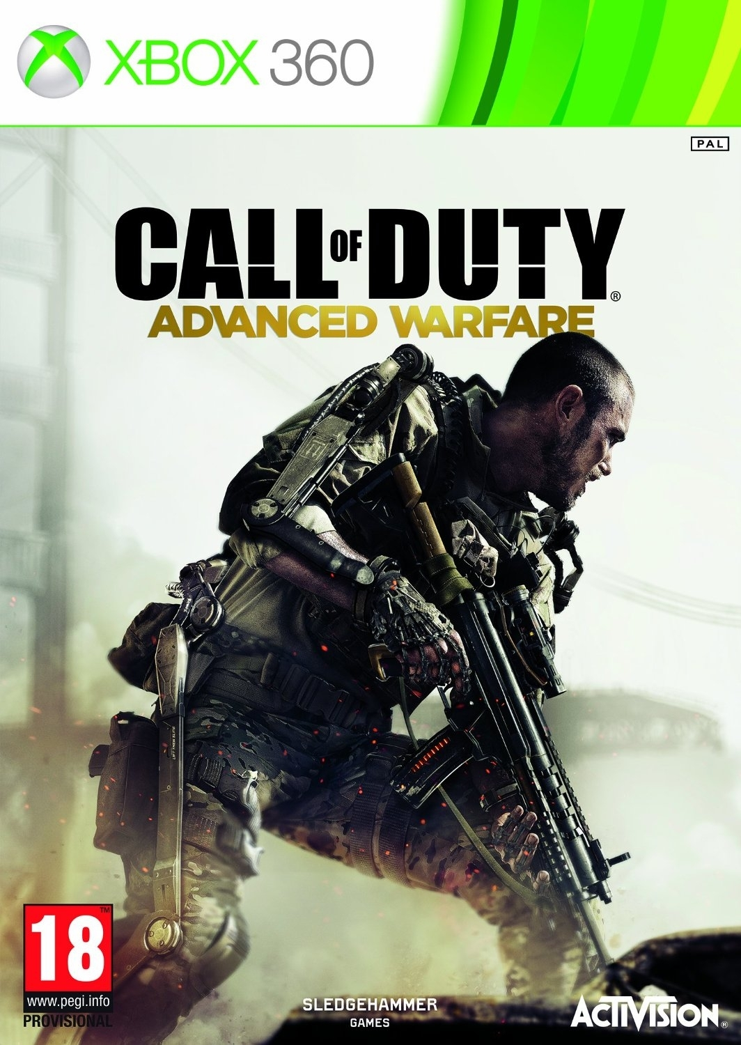 Call of Duty: Advanced Warfare PL (Xbox 360)