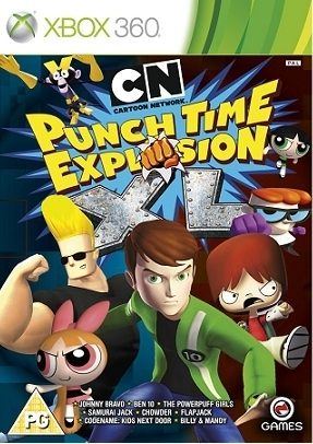 Cartoon Network Punch Time Explosion XL (Xbox 360)