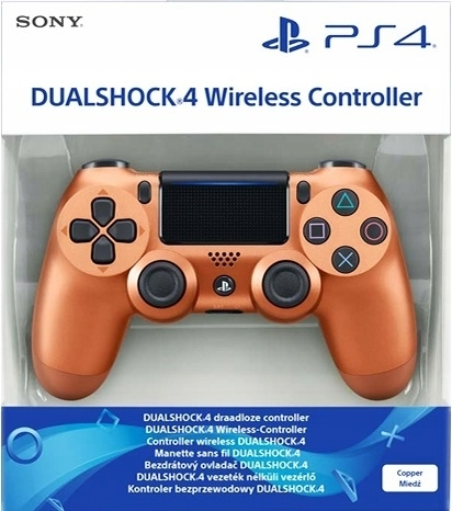 Pad Sony Dualshock 4 V2 Metallic Copper / Miedziany (PS4)