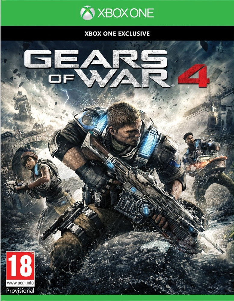 Gears Of War 4 PL (Xbox One)