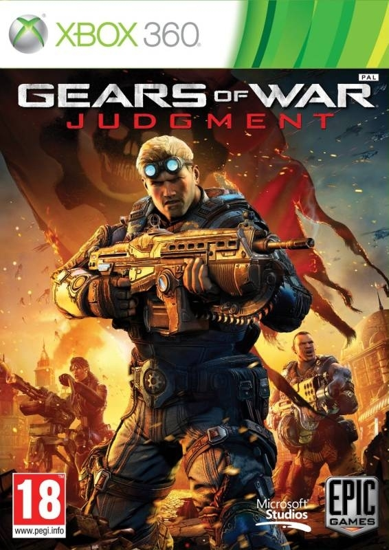 Gears of War Judgment PL / ANG (Xbox 360)