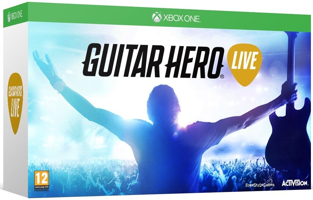 Guitar Hero Live z Giitarą (Xbox One)