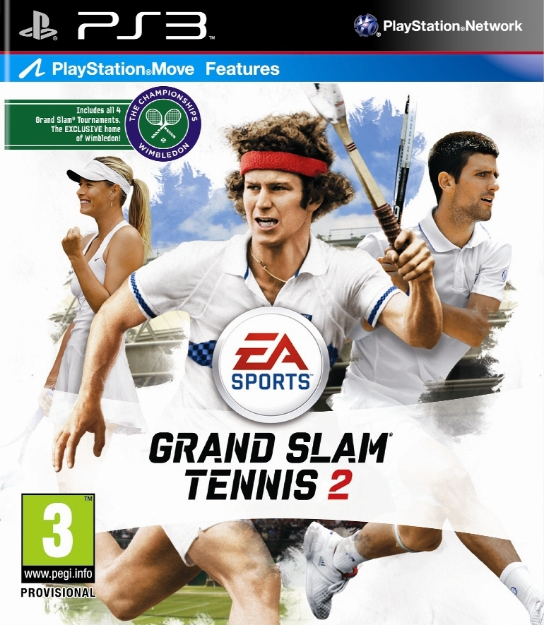 Grand Slam Tennis 2 Move (PS3)