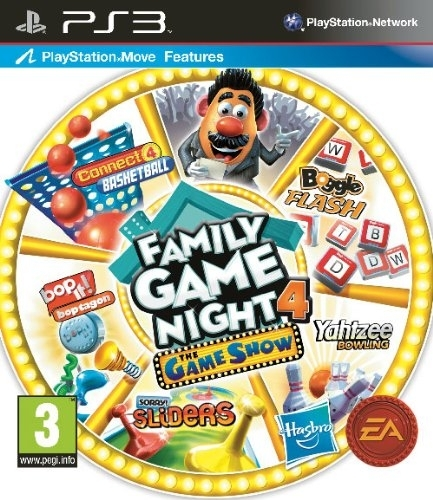 Hasbro Family Game Night 4: The Game Show Edition Move (PS3)