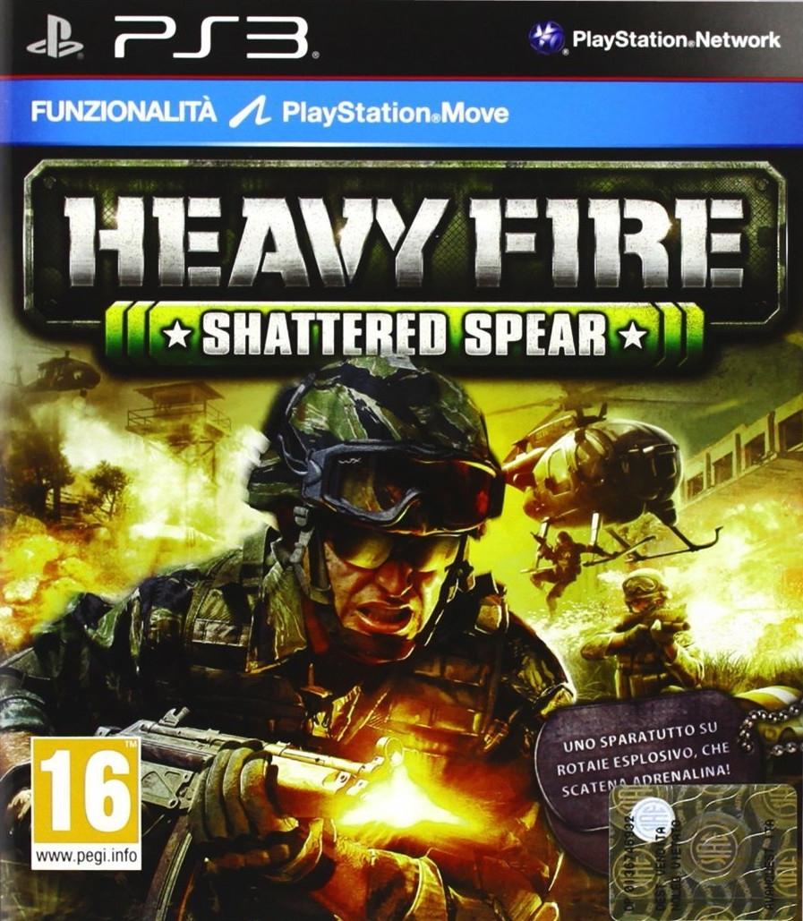 Heavy Fire: Shattered Spear (PS3)