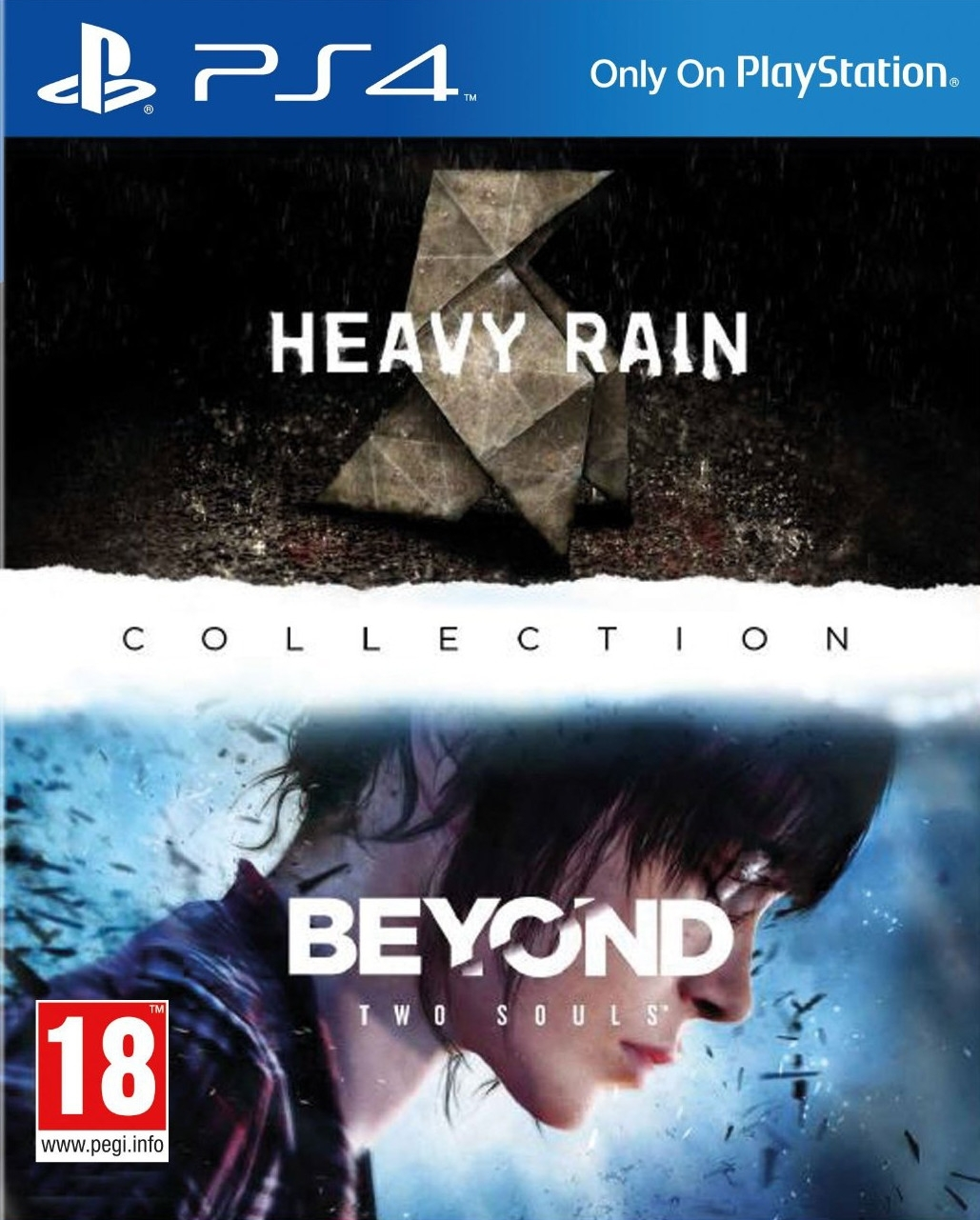 Heavy Rain i Beyond Two Souls Collection PL (PS4)