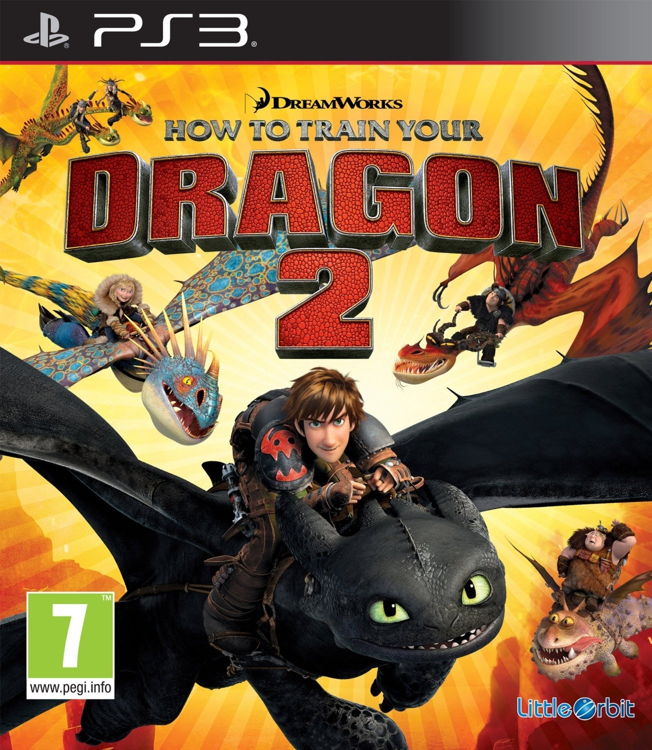 How To Train Your Dragon 2 / Jak Wytresować Smoka 2 (PS3)