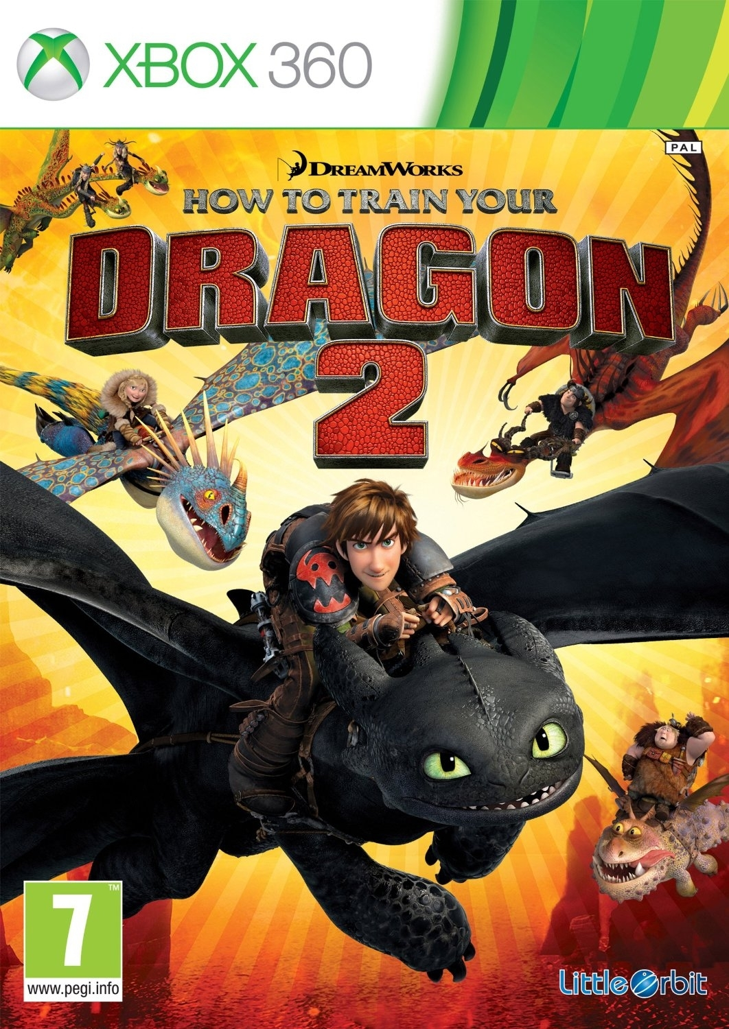 How To Train Your Dragon 2 / Jak Wytresować Smoka 2 (Xbox 360)
