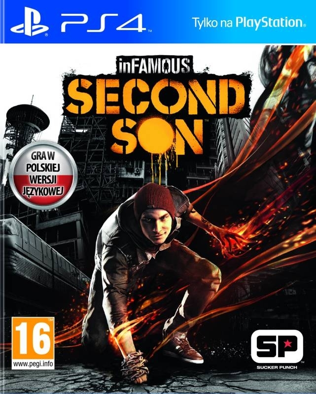 inFAMOUS Second Son PL  (PS4)
