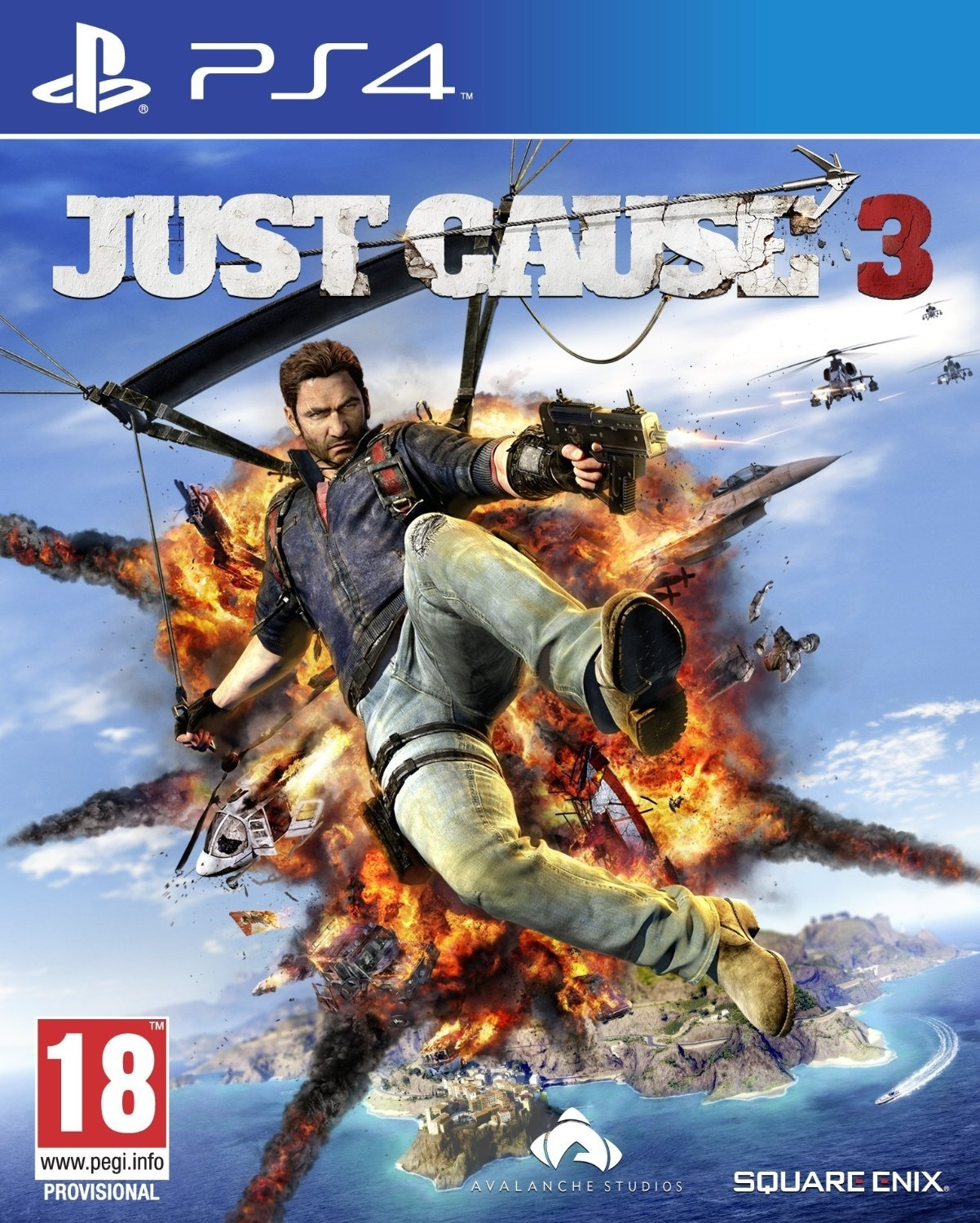 Just Cause 3 PL (PS4)