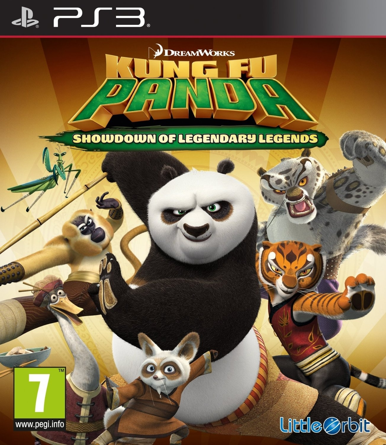 Kung Fu Panda: Showdown of Legendary Legends (PS3)