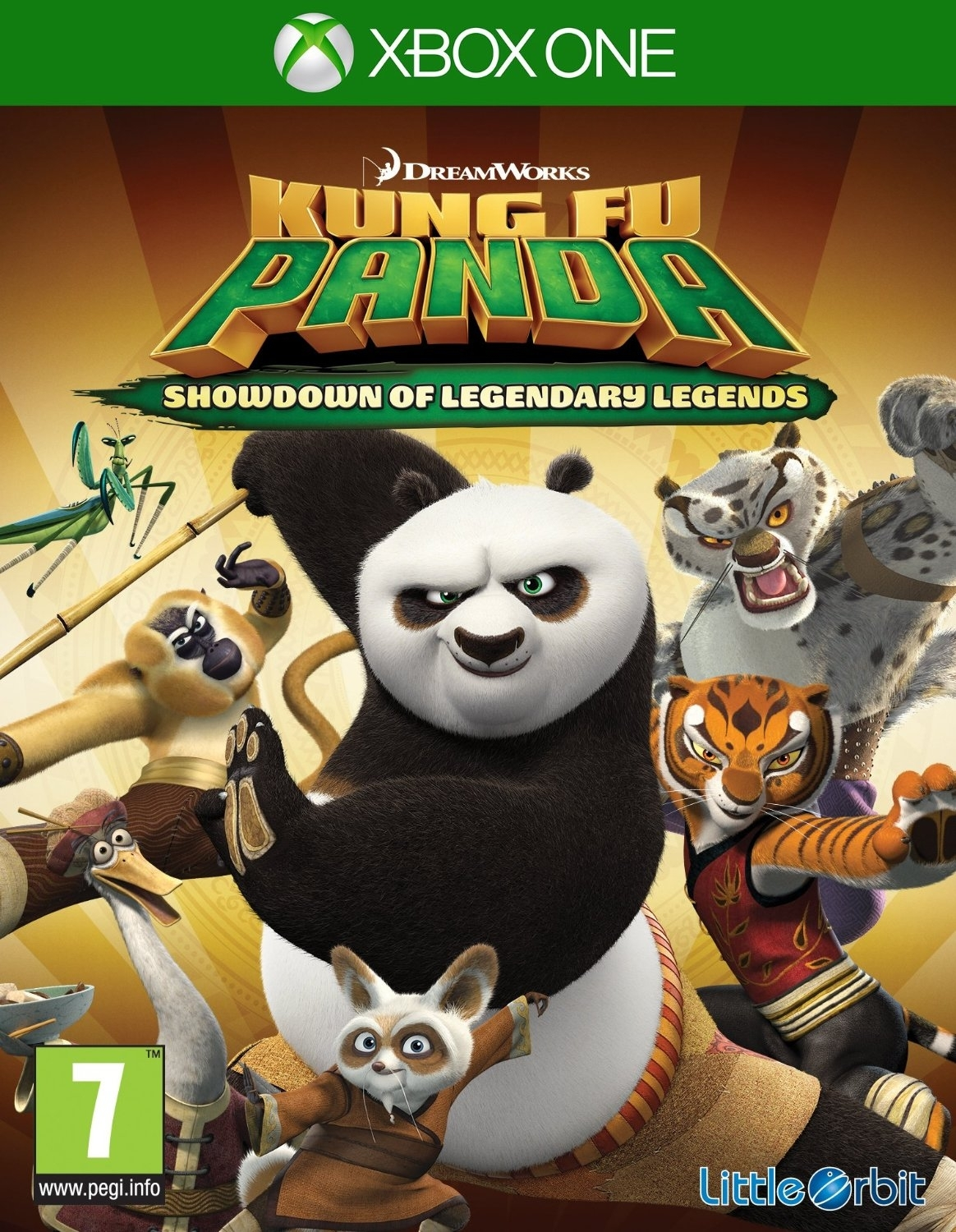 Kung Fu Panda: Showdown of Legendary Legends (Xbox One)