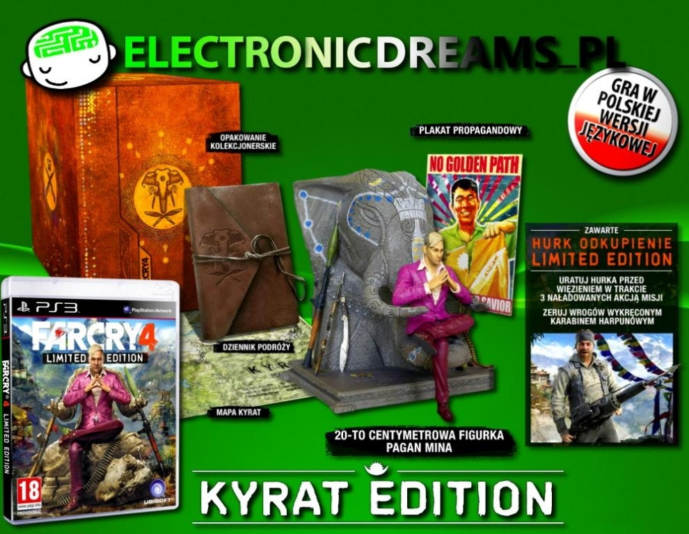 Far Cry 4 Kyrat Edition (PS3)