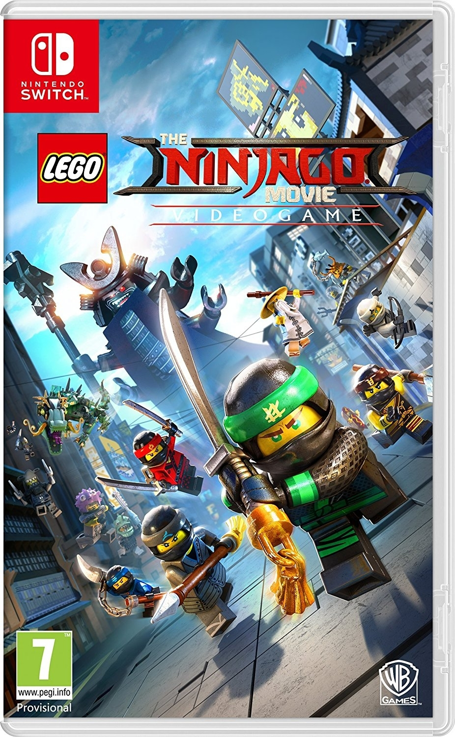LEGO Ninjago The Movie Gra Wideo PL Nintendo Switch