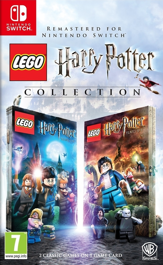 Lego Harry Potter Collection Lata 1-7 (Switch)