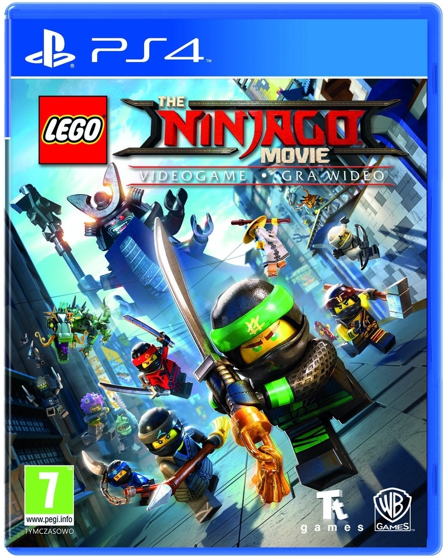 LEGO Ninjago The Movie Gra Wideo PL (PS4)