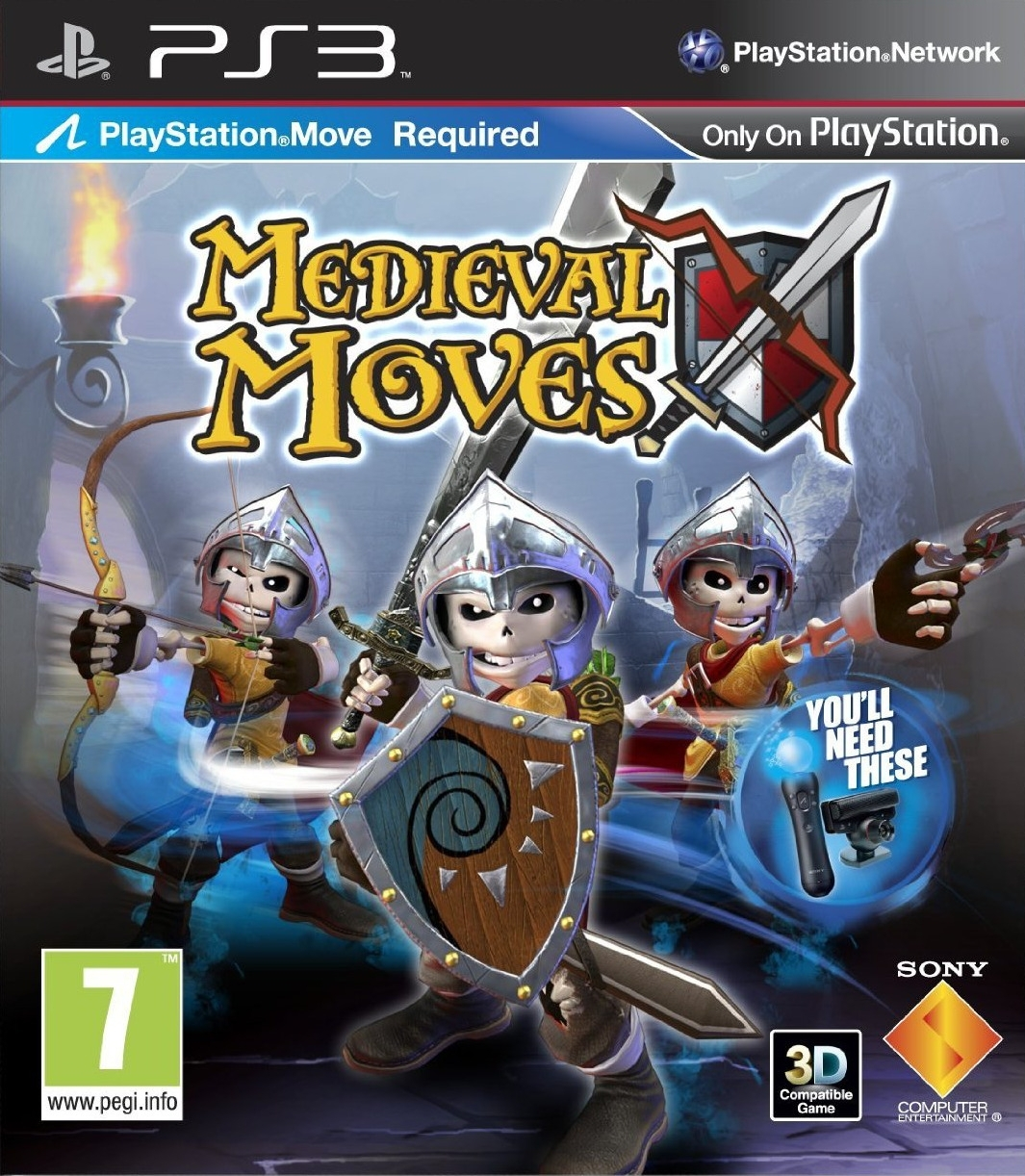 Medieval Moves: Wyprawa Trupazego / Medieval Moves: Deadmund's Quest Move (PS3)