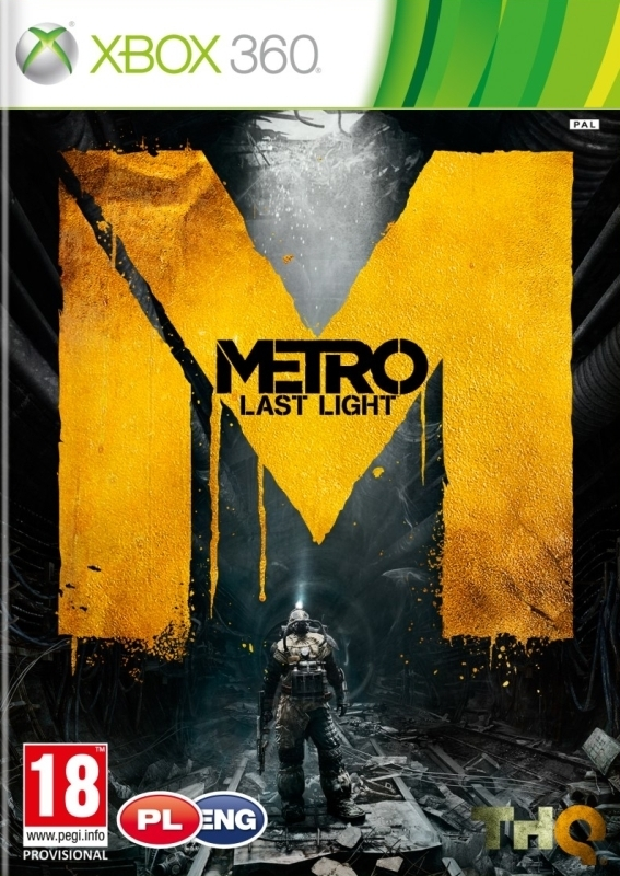 Metro Last Light PL / ANG (Xbox 360)