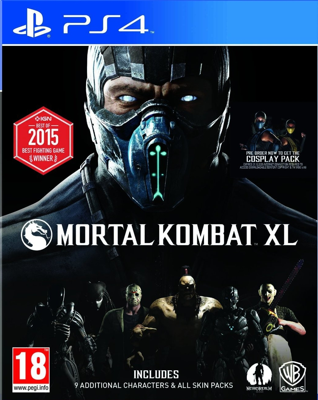 Mortal Kombat XL PL (PS4)